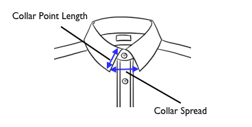 Men the image crunch for What is a spread collar shirt