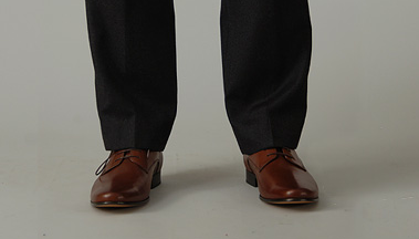 how to make cuffed pants stay there